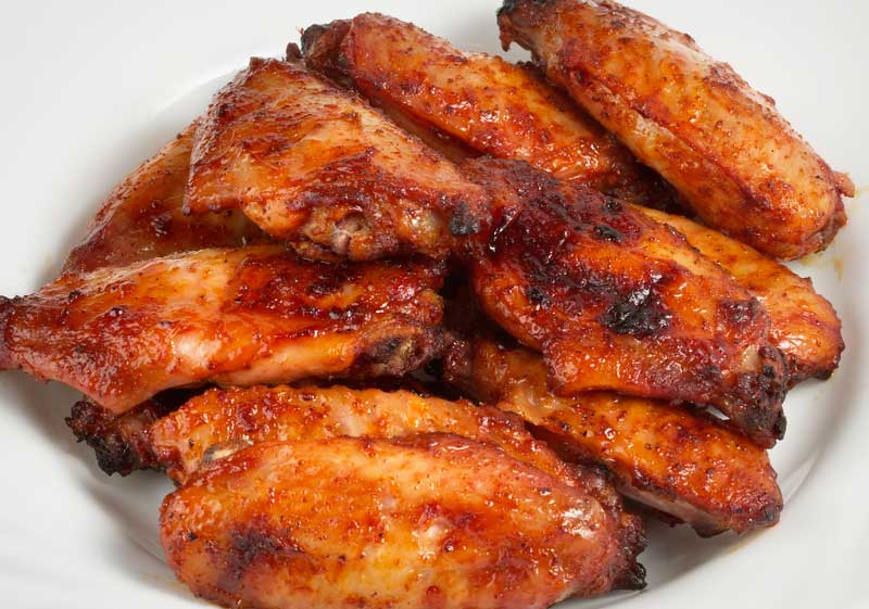 My favourite homemade Buffalo wings, baked!