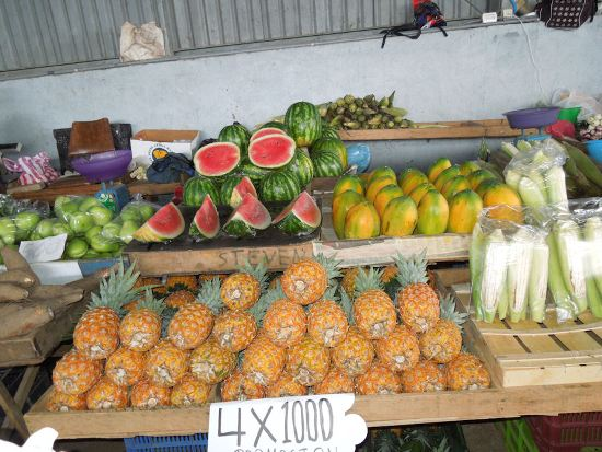 Fresh Local Fruit and Vegetables