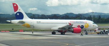 Viva Colombia,  the first true low-cost carrier in Colombia, based in Medellin