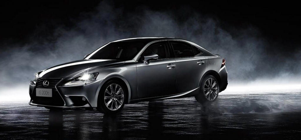 Illustration of the vehicle with the highest paying Marchamo for 2017, a 2013 Lexus